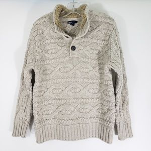 GAP Kids Beige Cable Knit Sweater *NEW* Size 8 (M)